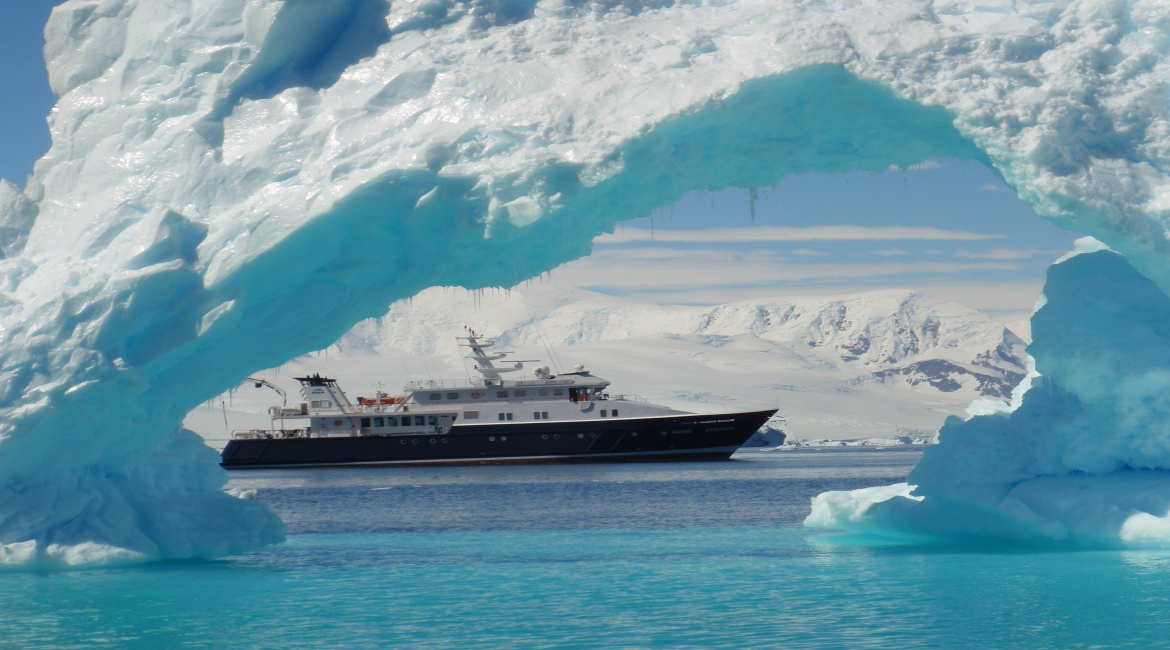 Private Luxury Yacht, Yacht, Listing ID 2069, Antarctic Peninsula, Southern Ocean,