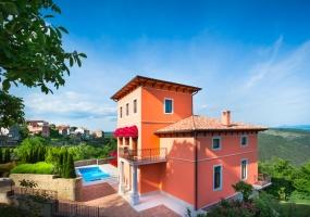 6 Bedrooms, Villa, Vacation Rental, 6 Bathrooms, Listing ID 1492, Oprtalj, Istria, Croatia, Europe,